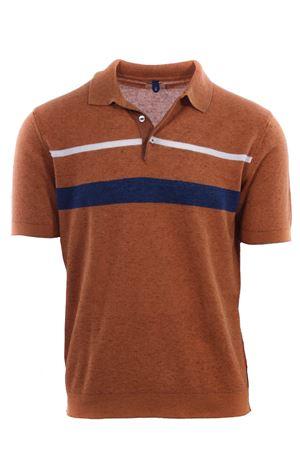 Polo maglia in lino e cotone a righe MC LAUREN | 2 | CM612P13GIASPER3