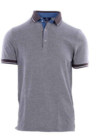 Polo in cotone con contrasti N&L | 2 | 6015378884191