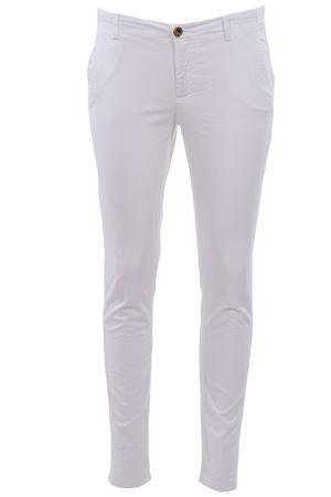 Pantaloni a sigaretta in piquet di cotone NOLAB | 5032272 | SOHOT87001