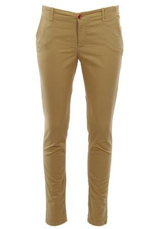 Pantaloni a sigaretta in piquet di cotone NOLAB | 5032272 | SOHOT87420