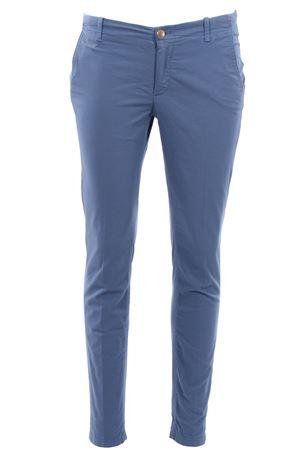 Pantaloni a sigaretta in piquet di cotone NOLAB | 5032272 | SOHOT87806