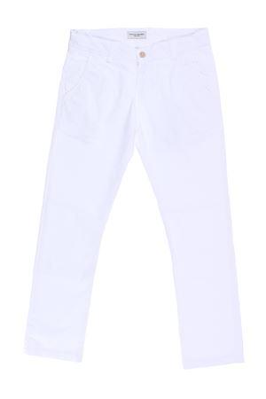 Pantalone chino in cotone PAOLO PECORA | 5032272 | PP1155BIANCO