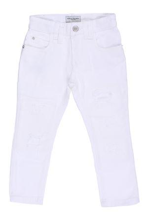 Jeans in denim color con rotture PAOLO PECORA | 24 | PP1252BIANCO