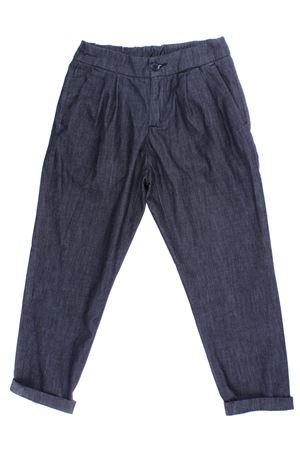 Pantalone chino con pinces PAOLO PECORA | 5032272 | PP1277NERO