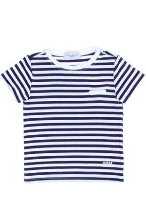 T-shirt manica corta rigata PAOLO PECORA | 8 | PP1327BIANCO/BLU