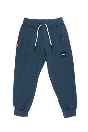 Pantalone jogging in cotone SHOE | 5032272 | E8PM03FOREST