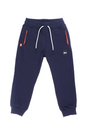 Pantalone jogging in cotone SHOE | 5032272 | E8PM03NAVY