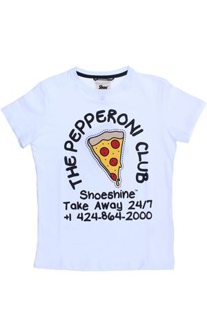 T-shirt manica corta SHOE   8   E8TM0110WHITE