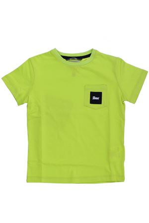 T-shirt in cotone SHOE | 8 | E8TM07LIME