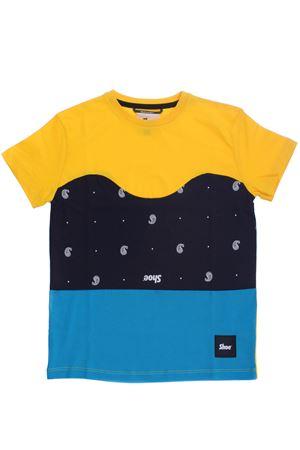 T-shirt in cotone SHOE | 8 | E8TM08YELLOW