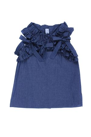 Top in cotone chambray SIMONETTA | 8 | 1I5092IA640619