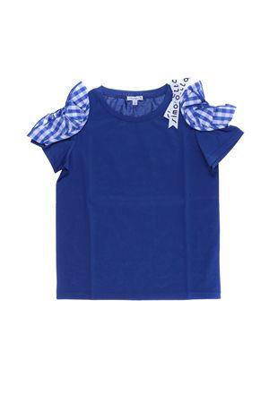 T-shirt in cotone con ruches SIMONETTA | 8 | 1I8021IX110613