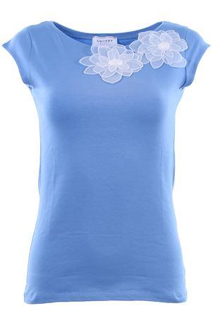 T-shirt girocollo in cotone SNOBBY SHEEP | 8 | 38045DENIM