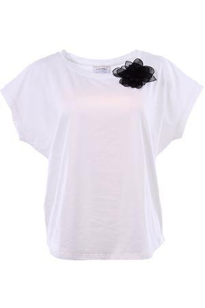 T-shirt girocollo in cotone SNOBBY SHEEP | 8 | 38065B.COF.NERO