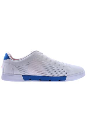 Breeze tennis knit SWIMS | 20000049 | 21285WHITE/BLITZ BLUE