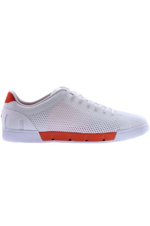 Breeze tennis knit SWIMS | 20000049 | 21285WHITE/ORANGE