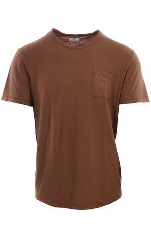 T-shirt manica corta in cotone e lino TELA GENOVA | 8 | DARIOSW57797049