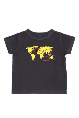 T-shirt in cotone con stampa TOURISTE | 8 | TS010ILEDEFRANCE998