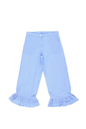 Pantaloni capri con ruches TWIN SET | 5032272 | GS82LT01818