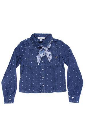 Camicia con stampa cuore TWIN SET   5032279   GS82MD01814