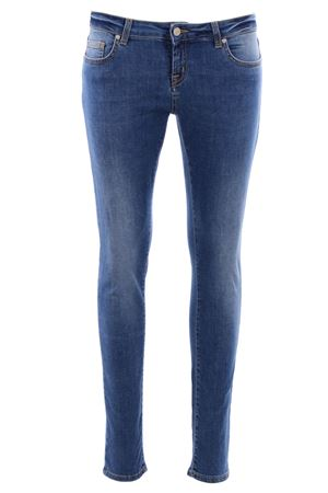 Jeans skinny in denim UP JEANS | 24 | 0010T01AADENIM