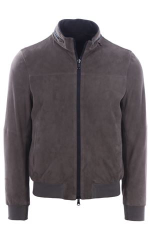 Suede and nylon reversible jacket AD UNUM | 5032285 | 1R03050A21