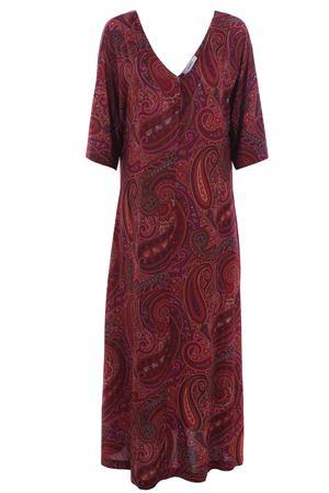 Long dress with v-neck ALPHA   5032276   AD1613O7170