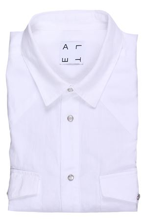 Camicia texana in cotone e lino ALTEA | 5032279 | 195406329