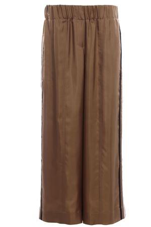 Silk pants ALYSI | 5032272 | 109131P9056OLIO
