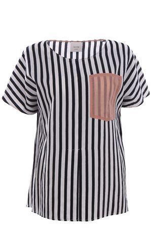 T-shirt with pocket ALYSI | 8 | 109274P9227NERO