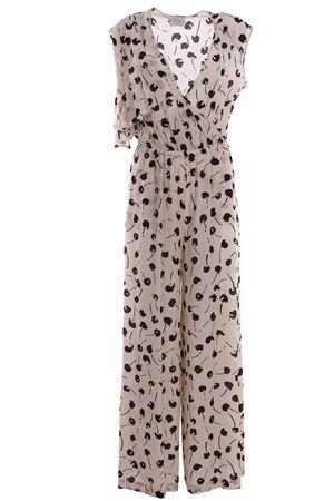 Sleeveless silk jumpsuit ALYSI | 5032302 | 109324P9001NERO