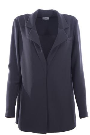 Long jacket ALYSI | 5032284 | 109804P9047FUMO
