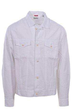 Seersucker cotton shirt jacket BAGUTTA | 5032279 | CLINTEL09063201