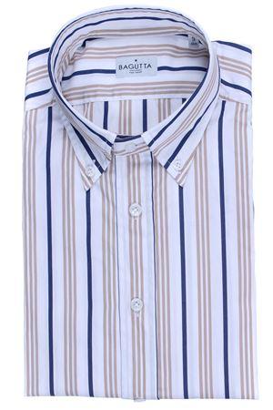Camicia a righe in cotone BAGUTTA | 5032279 | HELMUTEL08936270