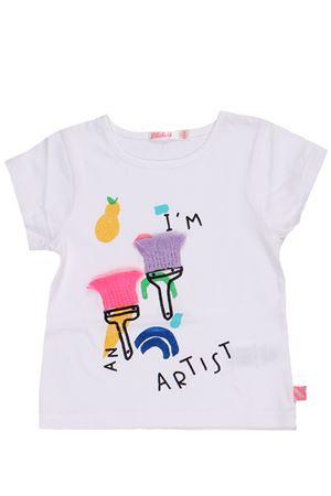 T-shirt in cotone stampa pennelli BILLIEBLUSH   8   U15626121