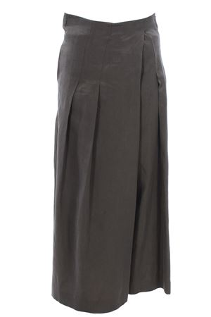 Long skirt trousers