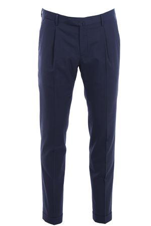 Stretch wool sartorial pants