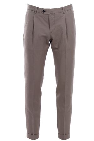Linen and cotton pants