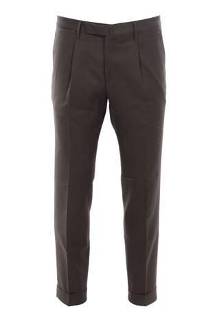 Pantalone in micro armatura di cotone e lino BRIGLIA | 5032272 | BG21S394272