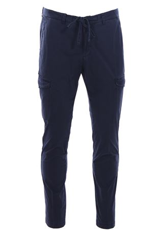 Jogging con tascone in popeline di cotone stretch BRIGLIA | 5032272 | BG5239510511