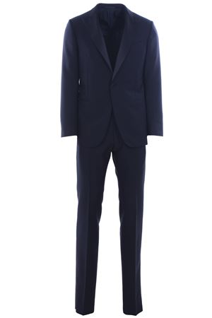 Wool and mohair tuxedo suit