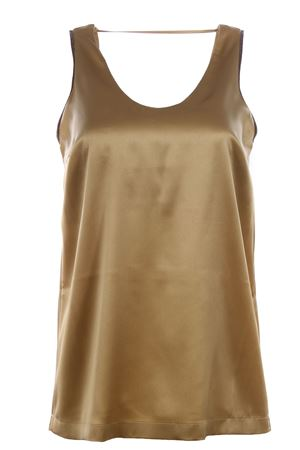 Silk top with jewellery