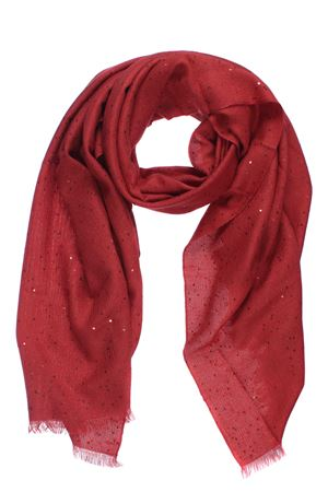 Scarf with micro sequins CUCINELLI | 5032273 | MSC915029C9291