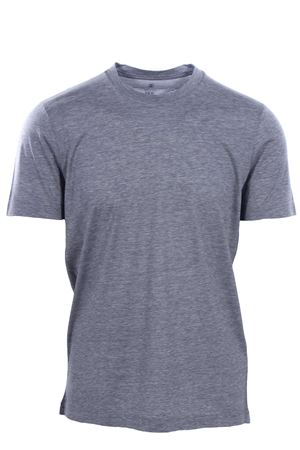 T-shirt in seta e cotone CUCINELLI | 8 | MTS461308C571