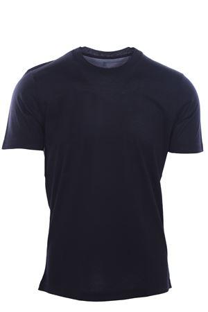 T-shirt in seta e cotone CUCINELLI | 8 | MTS461308C575