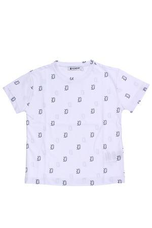 T-shirt girocollo in cotone logata DONDUP   8   BS115JE138XXX000