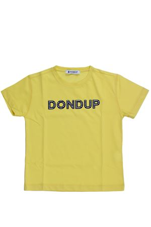 T-shirt girocollo in cotone DONDUP | 8 | BS116JE138XXX400
