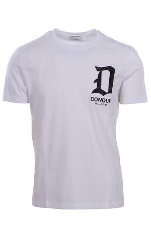 T-shirt con stampa logo DONDUP | 8 | US198JF0234UV61000