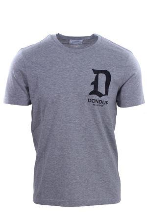 T-shirt con stampa logo DONDUP | 8 | US198JF0234UV61902