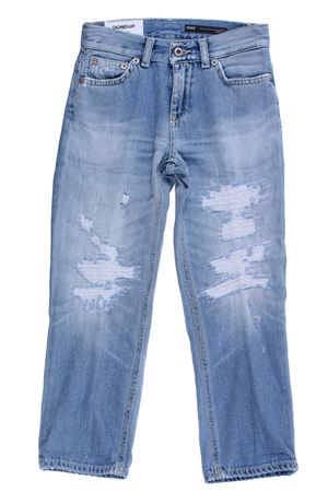 Distressed Paige jeans